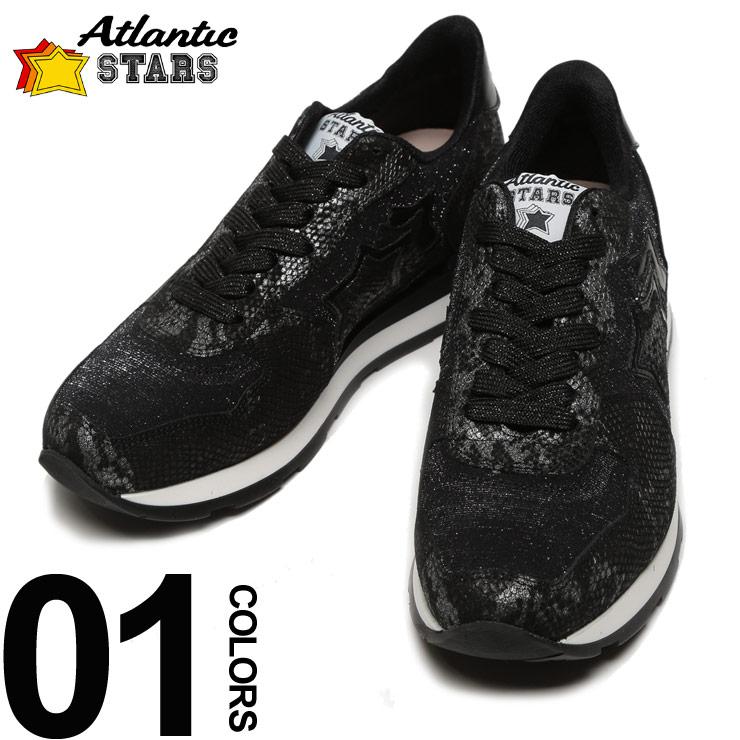 Atlantic STARS (アトランティックスターズ) スター ラメ ローカットスニーカー VEGA NAB 10N ブランド レディース カジュアル ファッション 靴 シューズ 【ASLNZB10N】