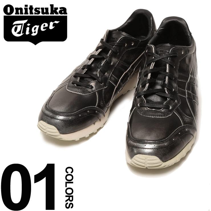 大きいサイズ メンズ Onitsuka Tiger (オニツカタイガー) レザー ロゴ ローカットスニーカー COLORADO EIGHTY-FIVE [US11-12] サカゼン ファッション カジュアル シューズ 靴 スニーカー 革