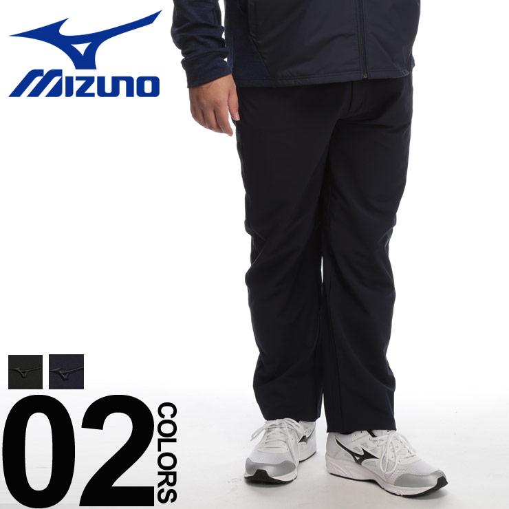 大きいサイズ メンズ MIZUNO (ミズノ) ストレッチ ウエストゴム ムーブパンツ [3L-6L] サカゼン カジュアル ボトムス 動きやすい ゴルフ スポーツ シンプル 無地