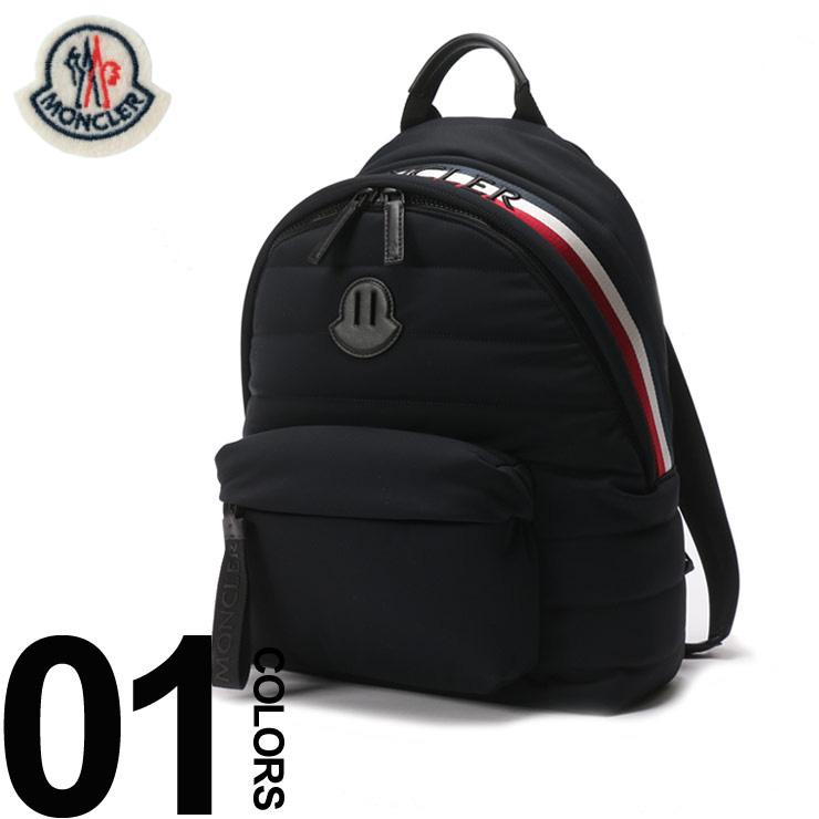MONCLER (モンクレール) トリコロール ロゴ バックパックブランド メンズ 男性 カジュアル ファッション 小物 バッグ 鞄 リュック キルティング MC0062800539AX