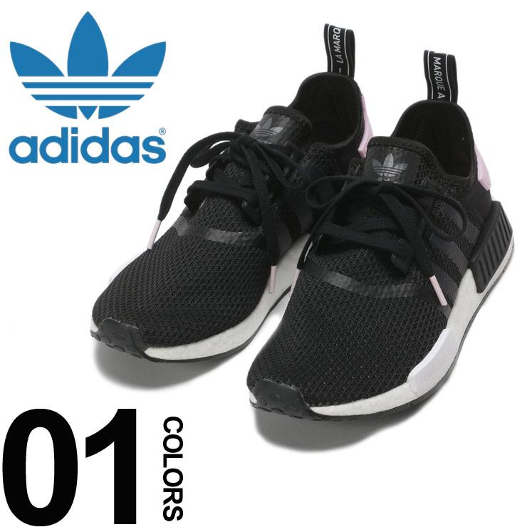 adidas (アディダス) ストレッチアッパー スリーライン スニーカー NMD_R1 Wブランド メンズ 男性 カジュアル ファッション 靴 シューズ スポーツ クッション Boost ADB37649