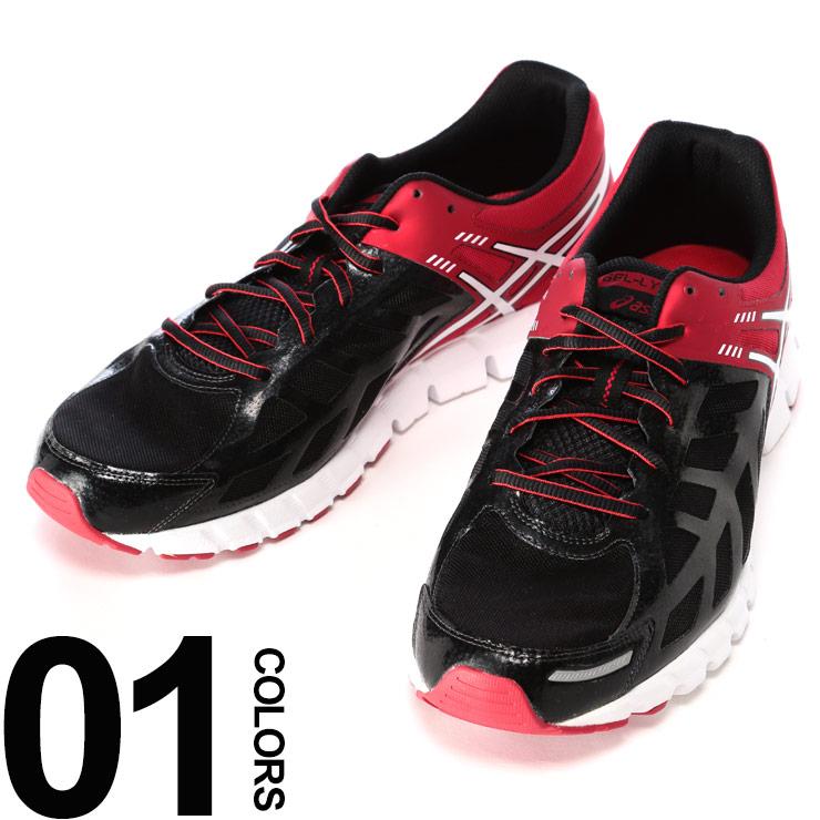 スポーツウェア アシックス スニーカー 靴 大きいサイズ メンズ ローカット ブラック×レッド US11-13 ASICS GEL-LYTE33 ブランド 大きいサイズのスポーツウェア