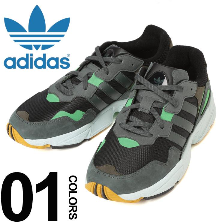 adidas (アディダス) スリーライン メッシュアッパー ローカットスニーカー YUNG-96ブランド メンズ 男性 カジュアル ファッション 靴 シューズ スニーカー スポーツ ランニング ADF35018