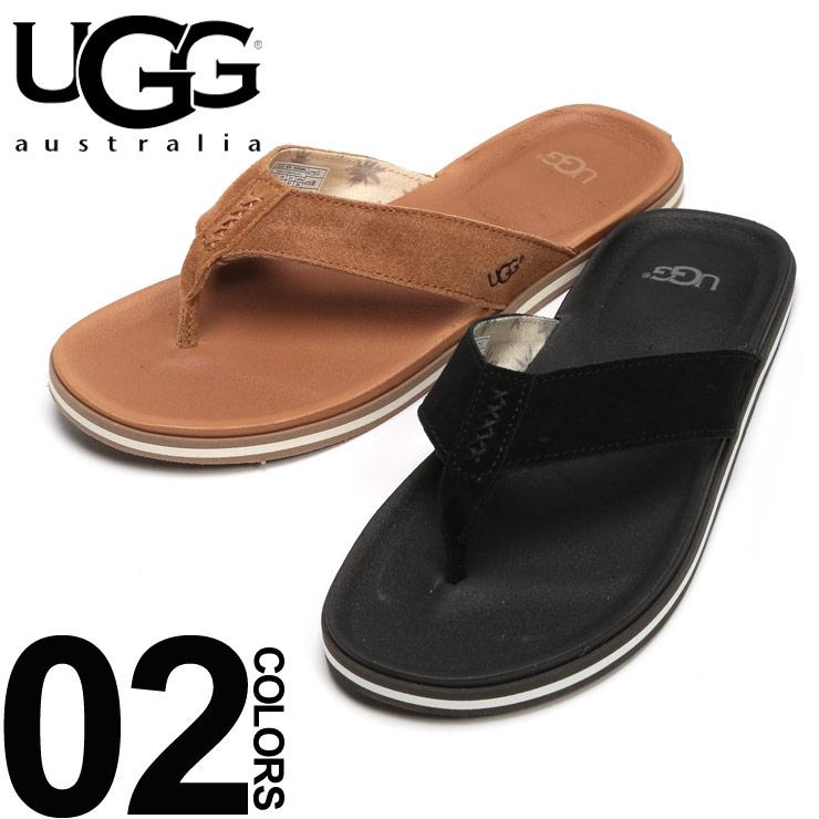 UGG AUSTRALIA (アグオーストラリア) スエードストラップ ビーチサンダル BEACH FLIPブランド メンズ 男性 カジュアル ファッション 靴 シューズ レジャー スポーティー UGG1020084