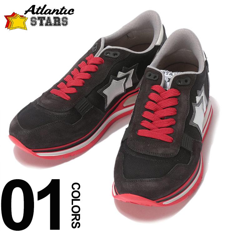 Atlantic STARS アトランティックスターズ ブランド メンズ 男性 カジュアル ファッション 靴 シューズ Atlantic STARS (アトランティックスターズ) スエード×メッシュ スター ローカットスニーカー PEGASUS NA J08ブランド メンズ 男性 カジュアル ファッション 靴 シューズ スニーカー レザー 星 ASNAJ08
