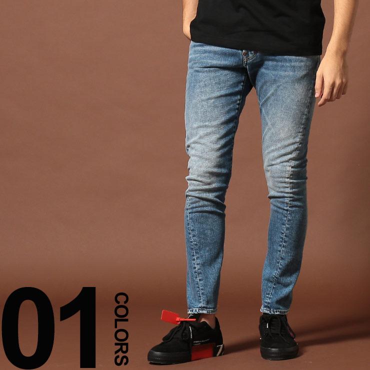 DSQUARED2 (ディースクエアード) ボタンフライ ジーンズ Sexy Twistブランド メンズ 男性 カジュアル ファッション ボトムス ジーパン デニム ねじれ ロング 立体 D2LB0567S3063