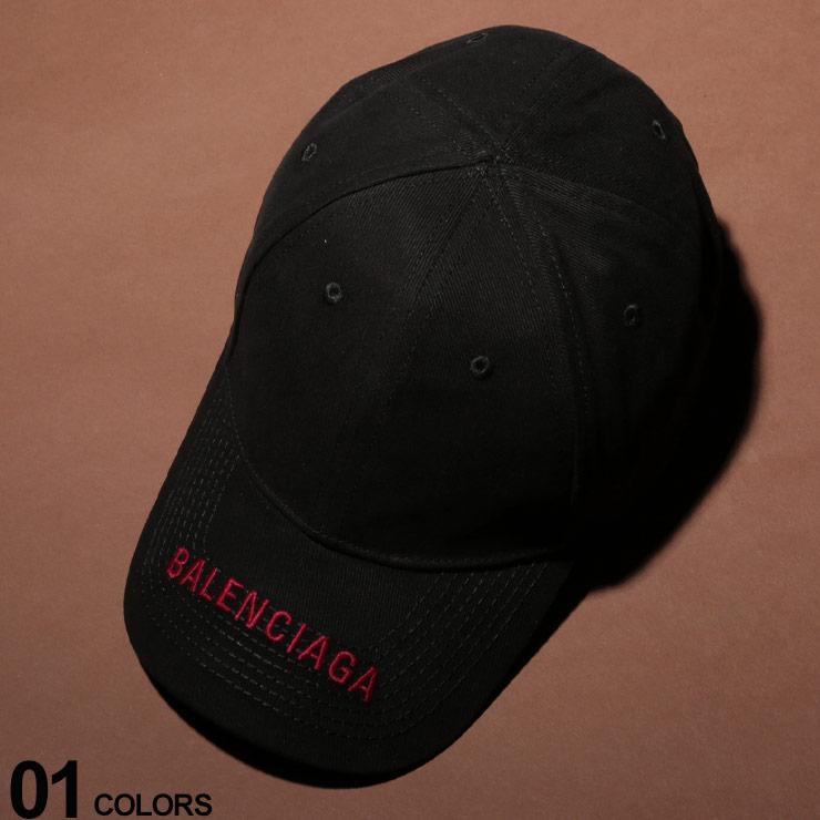 BALENCIAGA (バレンシアガ) 綿100% ロゴバイザー 6パネル キャップブランド メンズ 男性 カジュアル ファッション 小物 帽子 サイズ調節 コットン シンプル BC541400410B2