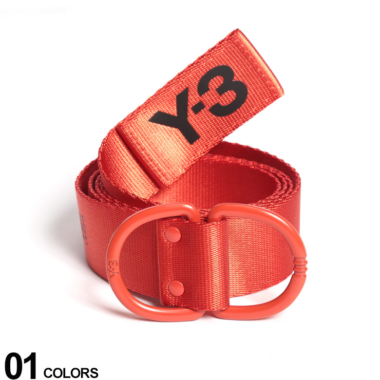 Y-3 (ワイスリー) ナイロン ロゴ Dリング ベルト LOGO BELTブランド メンズ 男性 カジュアル ファッション 小物 ストリート スポーティー 無段階 アディダス Y3FH9336