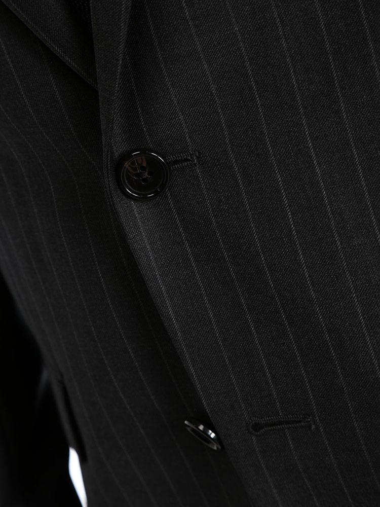 LAUREN RALPH LAURENローレン ラルフ ローレンウール混 ストライプ シングル 2ツ釦 スーツ ULTRA FLEXブランド メンズ 男性 紳士 ビジネス フォーマル ウール ノータック 総裏 シンプル RLLOFTON1EZ0151ZPuXOki