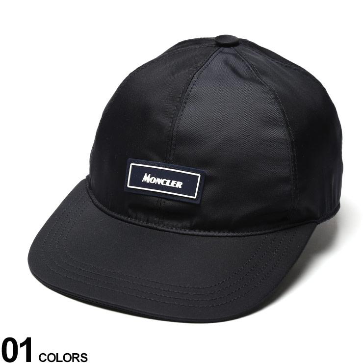 MONCLER (モンクレール) ナイロン ロゴ サーフキャップブランド メンズ 男性 帽子 キャップ ローキャップ 春 夏 ロゴ ナイロンキャップ 日よけ MC3B71600539TL