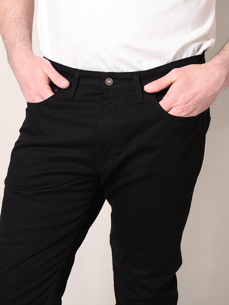 ジーンズ 大きいサイズ メンズ ストレッチ ジップフライ ジーンズ 503 レギュラー ストレート ブラックデニム 38 50インチ EDWIN エドウィンDH29YeWIEb