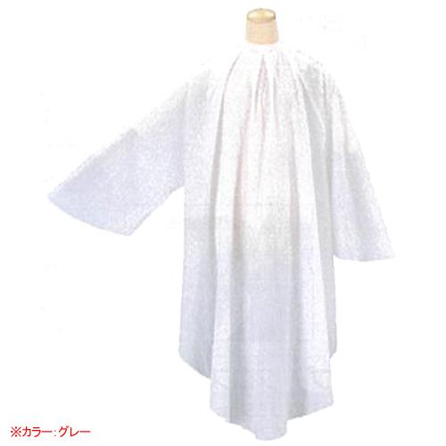 1210 シワシワウェーブ袖付クロス グレー 【BS】