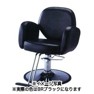 【 送料無料 】SB-935T-BR セット椅子 ブラック 【メーカー直送/代金引換決済不可】【 美容室 美容院 美容師 プロ 愛用 業務用 サロン専売品 】【BS】