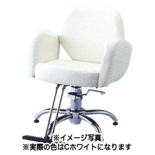 SB-935T-C セット椅子 ホワイト 【メーカー直送/代金引換決済不可】【 美容室 美容院 美容師 プロ 愛用 業務用 サロン専売品 】【BS】