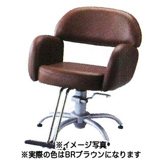 【 送料無料 】SB-875T-BR セット椅子 ブラウン 【メーカー直送/代金引換決済不可】【 美容室 美容院 美容師 プロ 愛用 業務用 サロン専売品 】【BS】