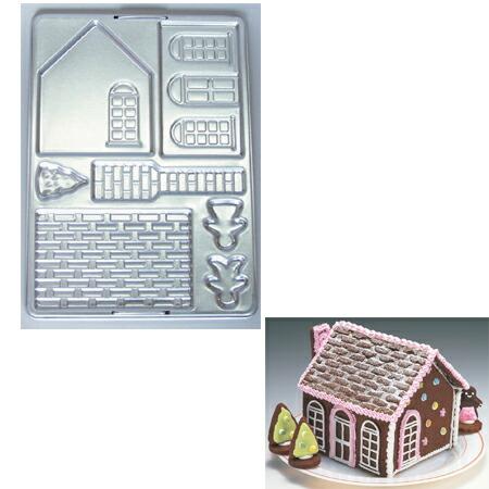 toh-221961 クッキー抜き型 ついに入荷 ビクトリアハウス お菓子の家 手作り バレンタイン BS 通販 激安◆