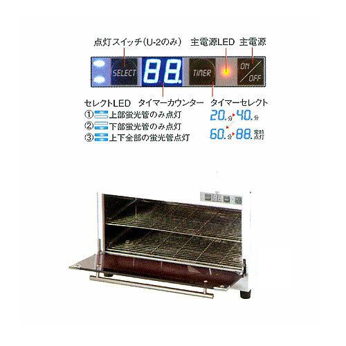 【 送料無料 】【 エステ サロン専用 】 デジタル消毒器 U-2 [ 多機能UV消毒器 ] 【 サロン専売品 美容室 美容院 美容師 プロ 愛用 】【BS】