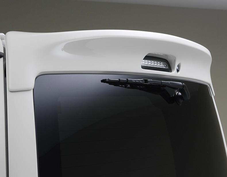 現品 エセックス リアウィング FRP製 ESSEX 40%OFFの激安セール 標準ボディー用 リアウィングVer2 ハイエース200系