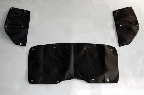 【ユーアイビークル】ハイエース200系 遮光パッド フロント3面 【~型 ワイドボディ】