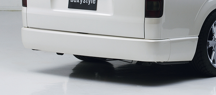 【BOXYSTYLE】ハイエース200系1~4型標準 リアフラットバンパー