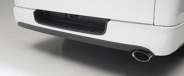 R-BUMPER 希望者のみラッピング無料 EXTENSION Rバンパーエクステ ハイエース200系1~4型標準 BOXYSTYLE セール価格 5型にも対応