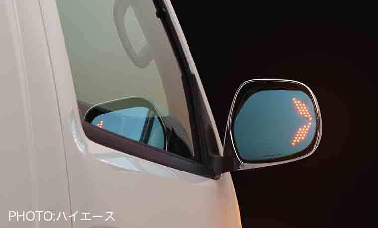 【シルクブレイズ】LEDウイングミラー トリプルモーション
