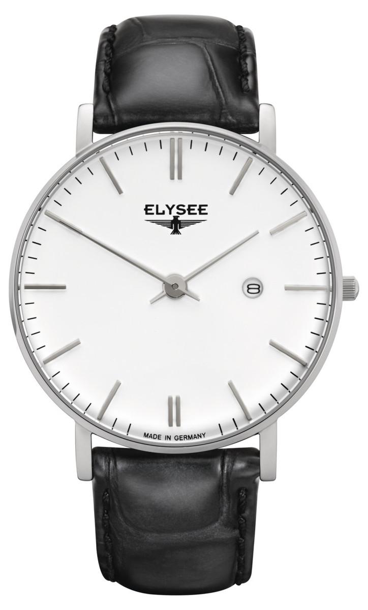 ELYSEE エリーゼ ZELOS ビジネス メンズ ドイツ 腕時計 シンプル 高品質 レザー プレゼント 贈り物