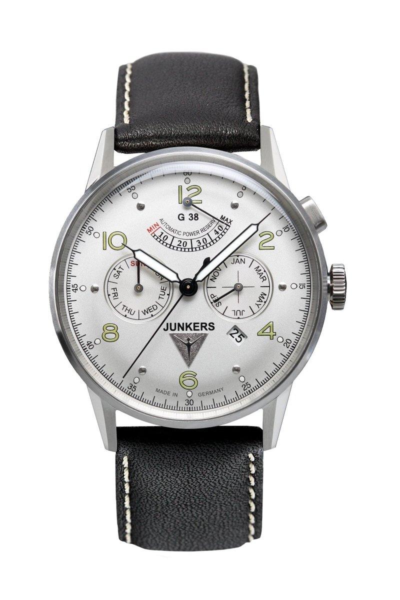Junkers ユンカース 自動巻き メンズ 腕時計 6960-4 features SERIES G38 ED 1 ドイツ腕時計 クラシック パイロット