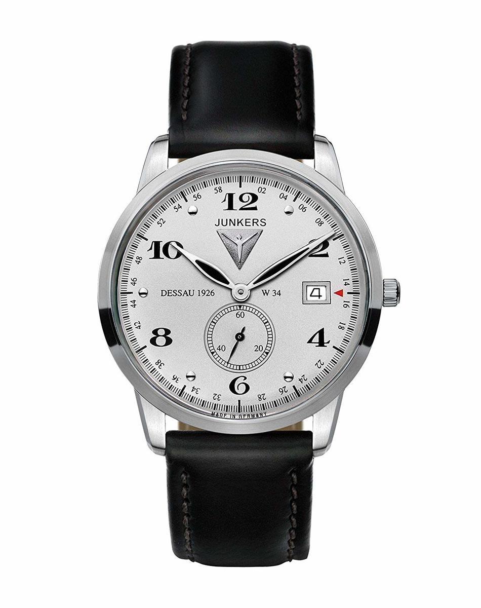 JUNKERS ユンカース メンズ 腕時計 Dessau 1926 W34 クォーツ 6334-4 ドイツ製 クラシック