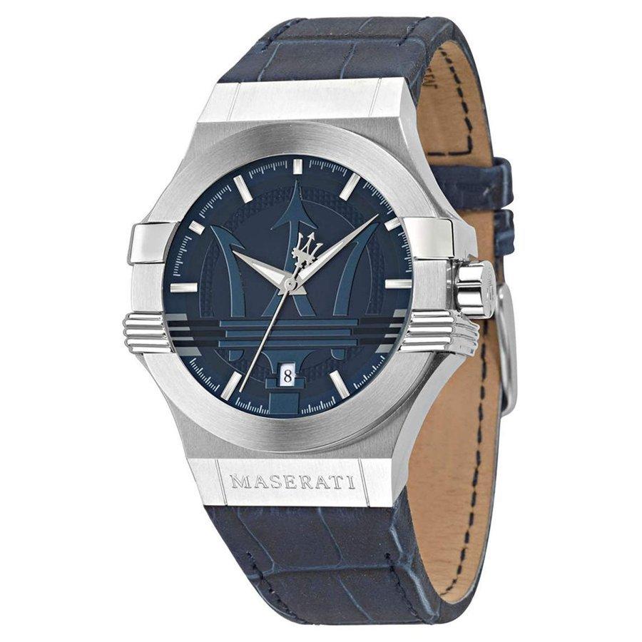 Maserati マセラティ 腕時計 POTENZA R8851108015 メンズ ネイビー クオーツ プレゼント 贈り物