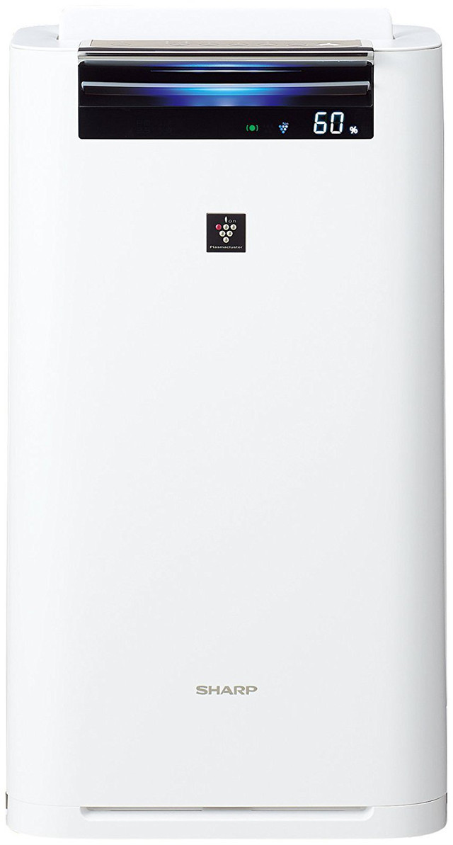 SHARP 加湿空気清浄機 プラズマクラスター ホワイト系 KI-GS70-W [KIGS70W]