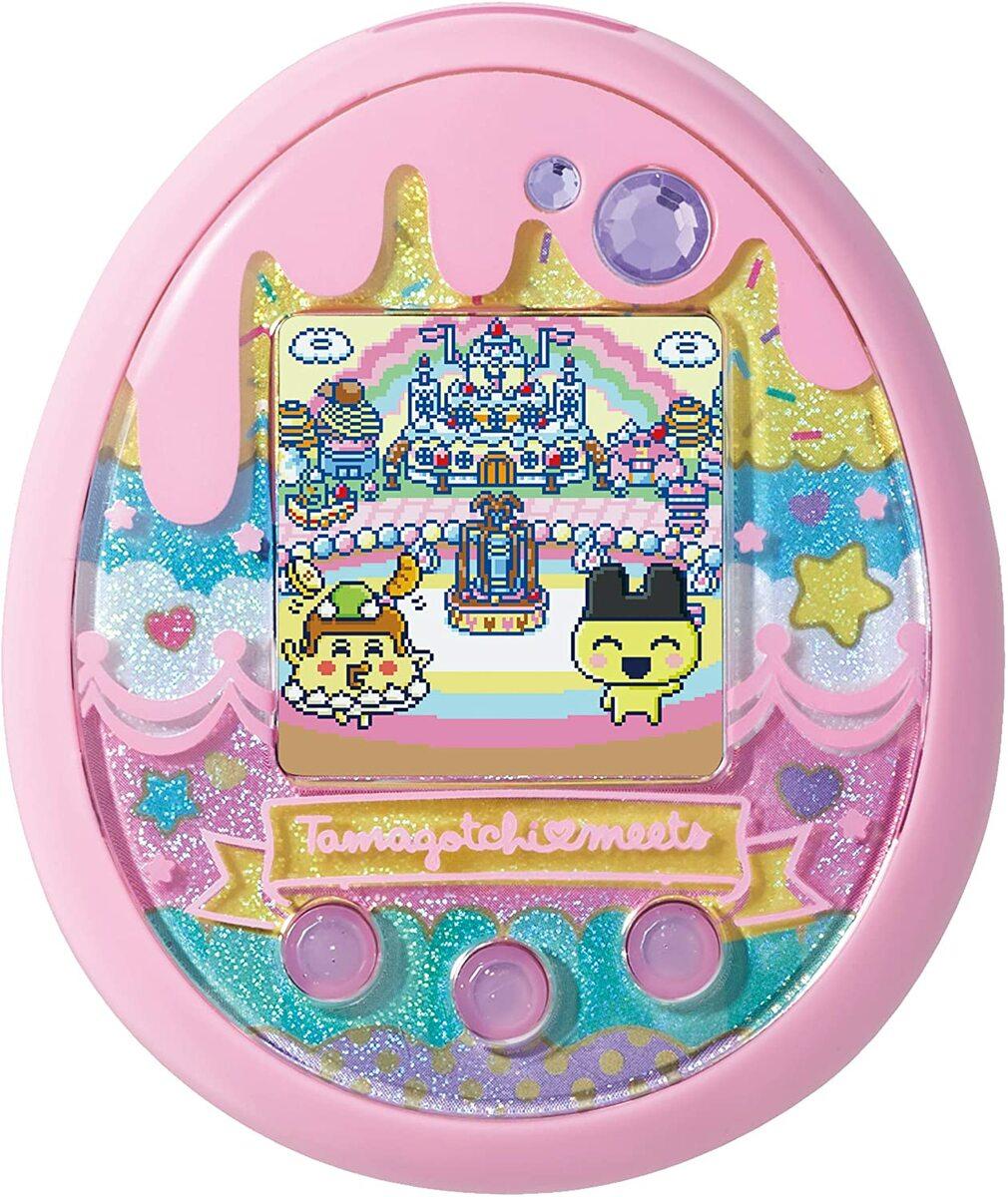 送料無料 Tamagotchi アウトレット 上品 meets たまごっちみーつ ver.ピンク スイーツみーつ