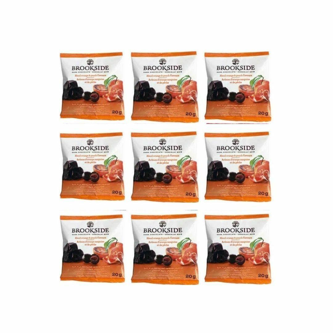 春の新作シューズ満載 ポスト投函商品 配送料無料 送料無料 ブルックサイド ブラッドオレンジ 10袋 ダークチョコレート 20g 10袋セット 評判 お試し コストコ ミニサイズ アソート BROOKSIDE チョコ 通販 小分け