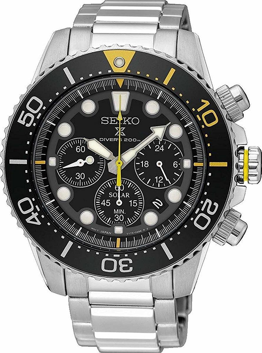 SEIKO 腕時計 Prospex プロスペックス Diver's 200m クロノグラフ ソーラー SSC613 SSC613P1 メンズ ダイバーズ