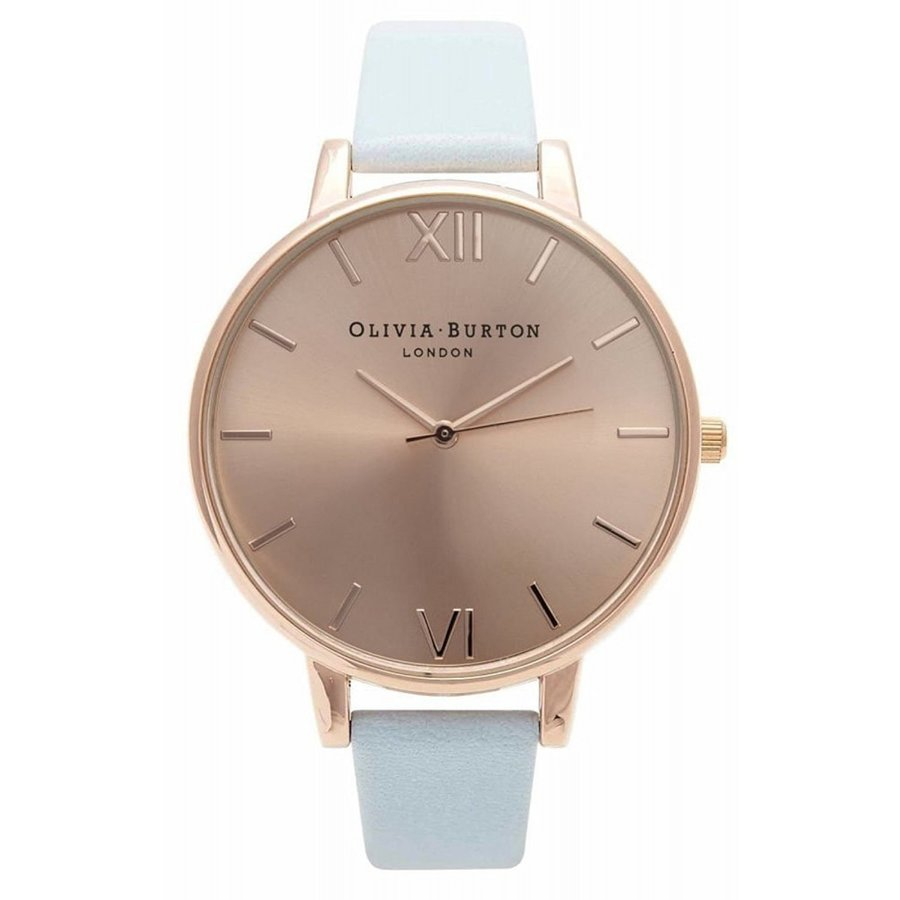 Olivia Burton オリビアバートン 腕時計 Big Dial Powder Blue & Rosegold レディース OB14BD20 水色 プレゼント 贈り物
