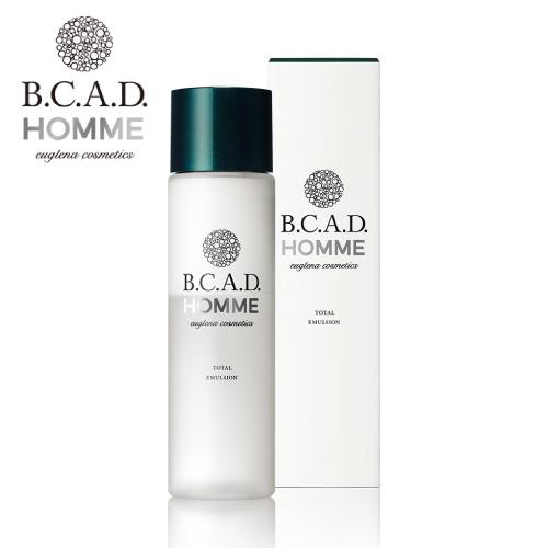 B.C.A.D. HOMME トータルエマルジョン (保湿液)120ml (天然由来/うるおい補給/ユーグレナ/化粧水/乳液/美容液/BCAD/メンズ保湿液/メンズ/スキンケア/保湿/乾燥/敏感/過敏)保湿 乾燥 乾燥対策
