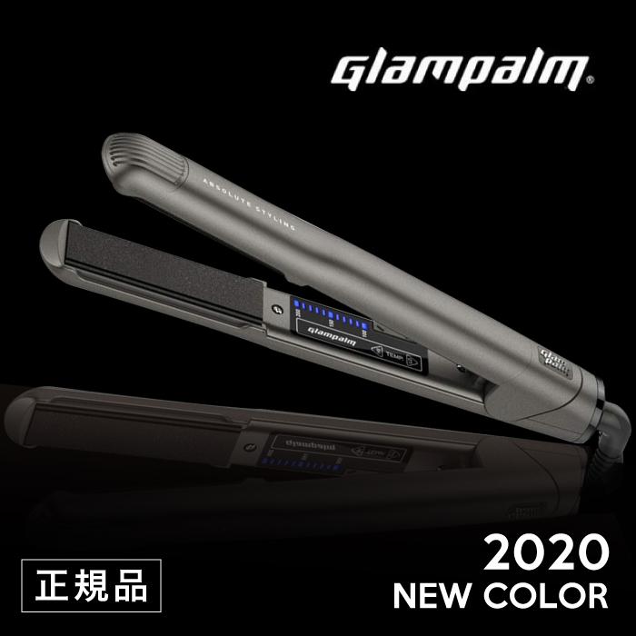 【正規品】2020年最新モデル グランパーム ストレートアイロン Glam Palm GP201CL GM ガンメタリック ブラック (送料無料 アイロン/ストレートアイロン/ストレート/ウェーブ/サロン専売品/海外サロン/美容室のアイロン/美容室/プロ仕様/波巻き/ヘアアイロン)