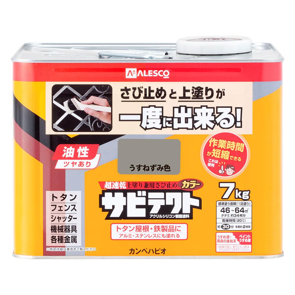 【あす楽対応・送料無料】カンペハピオサビテクトうすねずみ色7K
