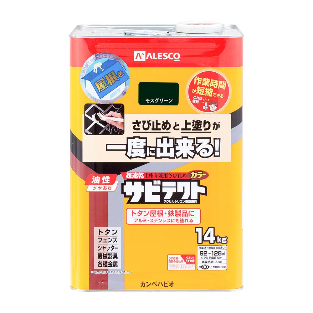 【あす楽対応・送料無料】カンペハピオサビテクトモスグリーン14K
