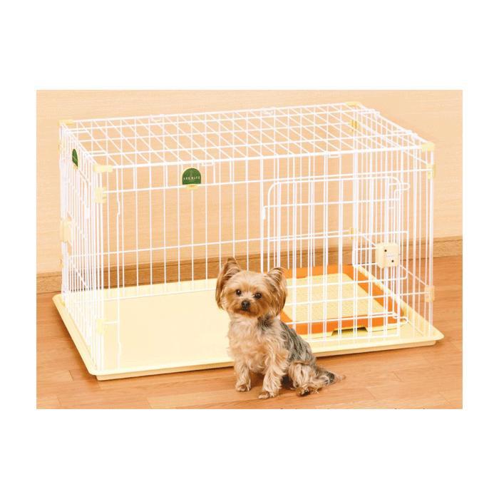 【送料無料】屋根面・トイレセット アドメイト 2ドアパピー サークル 【犬/サークル/ゲージ/小型犬】
