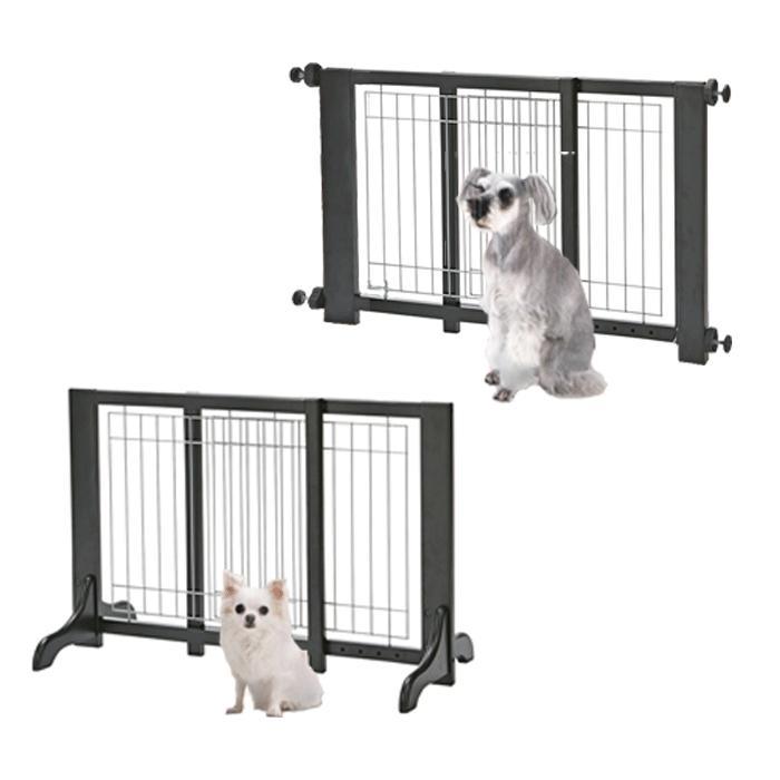 【送料無料】調節できる木製ゲート アドメイト ヴィラフォートゲート ワイドサイズ【犬/ゲート/柵/調節】