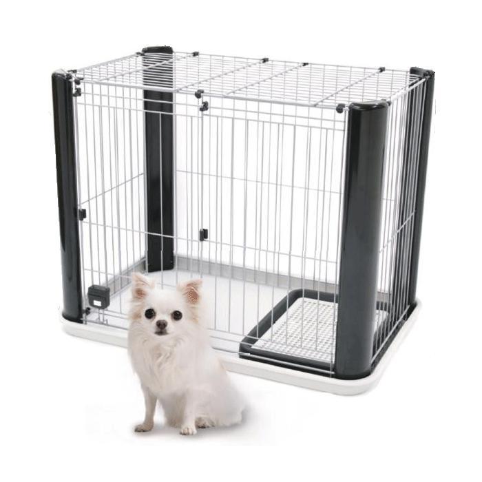 コンパクトでも高さがあるので 圧迫感を感じさせない広々空間 送料無料 広々空間 アドメイト 贈答品 ヴィラフォート 犬 スモール ゲージ 今ダケ送料無料 小型犬 サークル