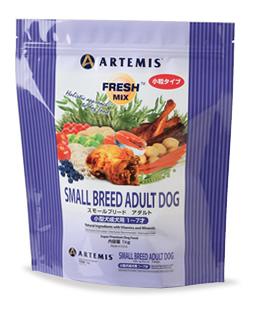 【送料無料】正規品 ARTEMIS アーテミス ドックフード フレッシュミックス スモールブリード アダルト 小粒 13.6kg 【アダルト/成犬/小型犬】