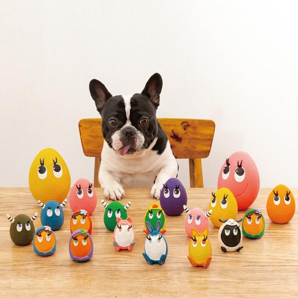 LANCOの大人気タマゴのおもちゃ 大きいサイズが登場 LANCO ランコタマゴ LLサイズ お買い得品 お色はえらべません タマゴ 海外輸入 犬 おもちゃ ボール