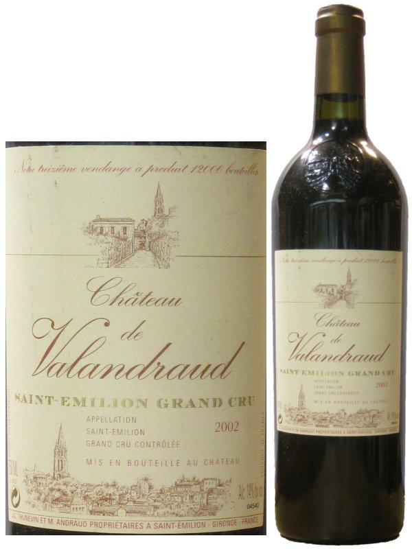 シャトー ヴァランドロー 【2006】【赤ワイン】 750ml Chateau Valandraud
