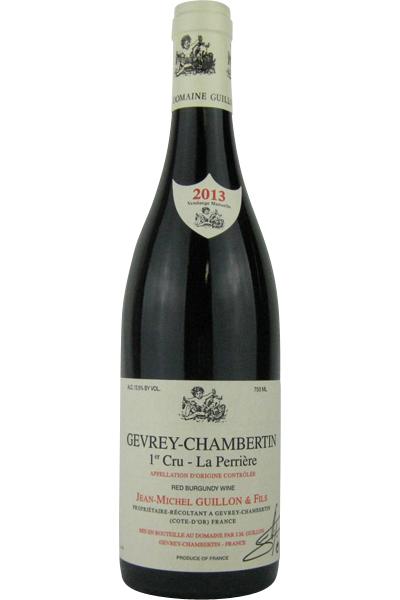 ジャン・ミッシェル・ギュイヨン ジュヴレ・シャンベルタン 1級畑 レ・ペリエール 2013 750ML (フランスワイン)(赤ワイン)