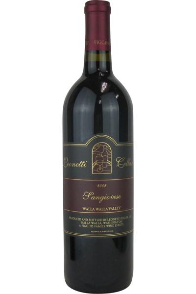レオネッティ・セラー サンジョヴェーゼ 2008 750ML (アメリカワイン)(赤ワイン)