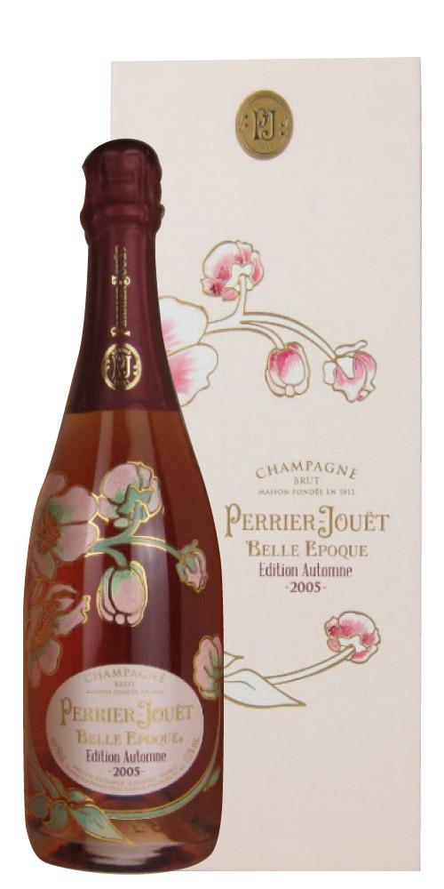ペリエ・ジュエ ベル・エポック エディション オータム [ボックス] 2005 750ML (フランスワイン)(ロゼワイン)