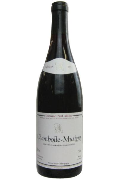フランス 赤 ポール ミセ シャンボール ミュジニー 2001 Paul Domaine Misset お気に入り ランキングTOP5 Chambolle 赤ワイン Musigny