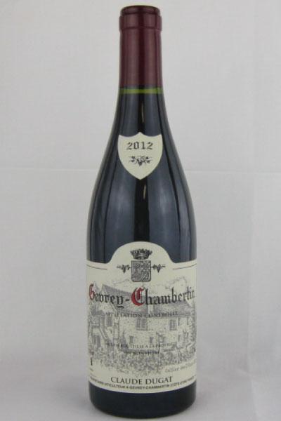 クロードデュガ ジュブレ・シャンベルタン 2012 750ML (フランスワイン)(赤ワイン)
